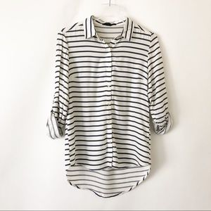Paper Tee button down
